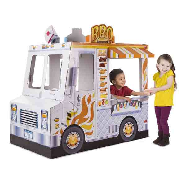 melissa doug food truck playhouse