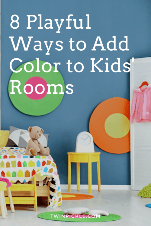 8 Playful Ways to Add Color to Kids Rooms Design