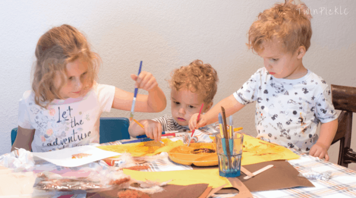 How to keep kids crafts clean