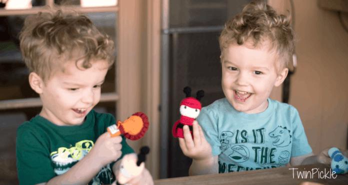 Handmade Crochet Finger Puppets for Kids