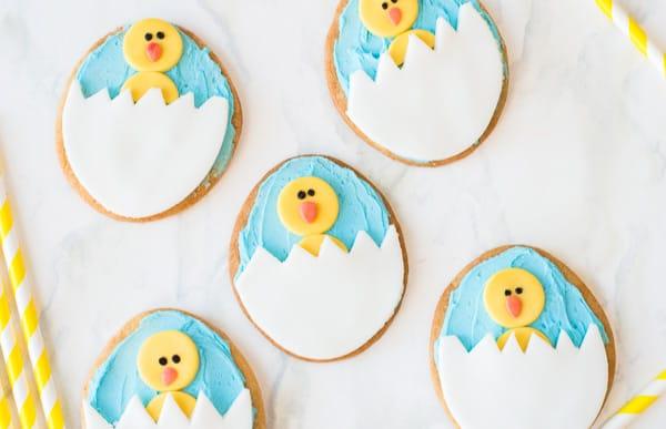 easter-chick-sugar-cookies