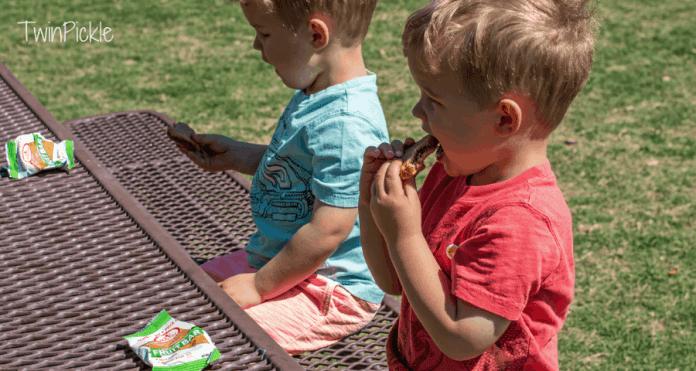 Eating gluten free snacks