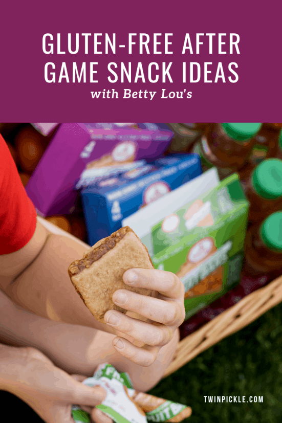 Gluten Free After Game Snack Ideas