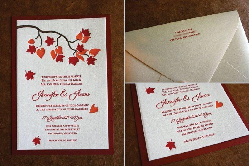 Wedding Invitations For Small Weddings