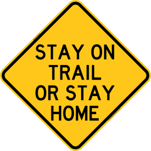 stay-on-trail-sign