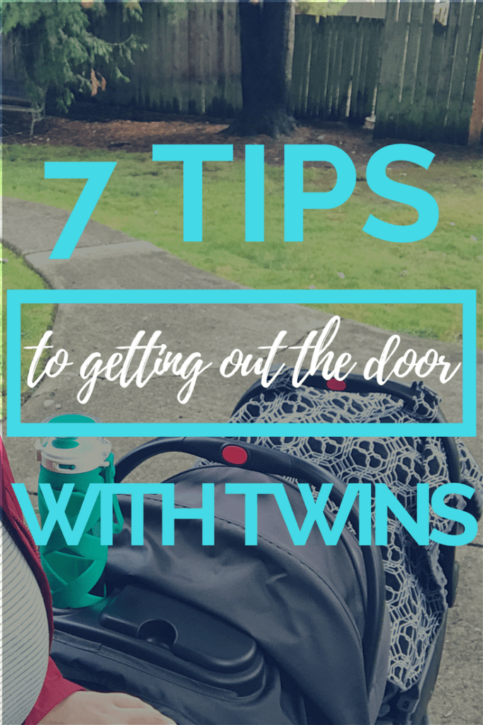 TIPS ON GETTING TWINS OUT THE DOOR