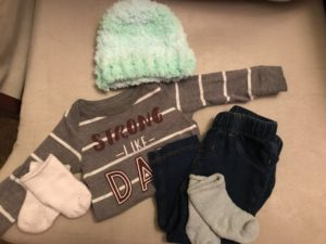 Baby clothes for cold weather