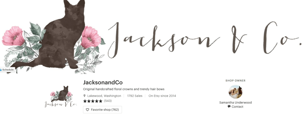 Shop Small this Holiday Season 2018 with Jackson and Co
