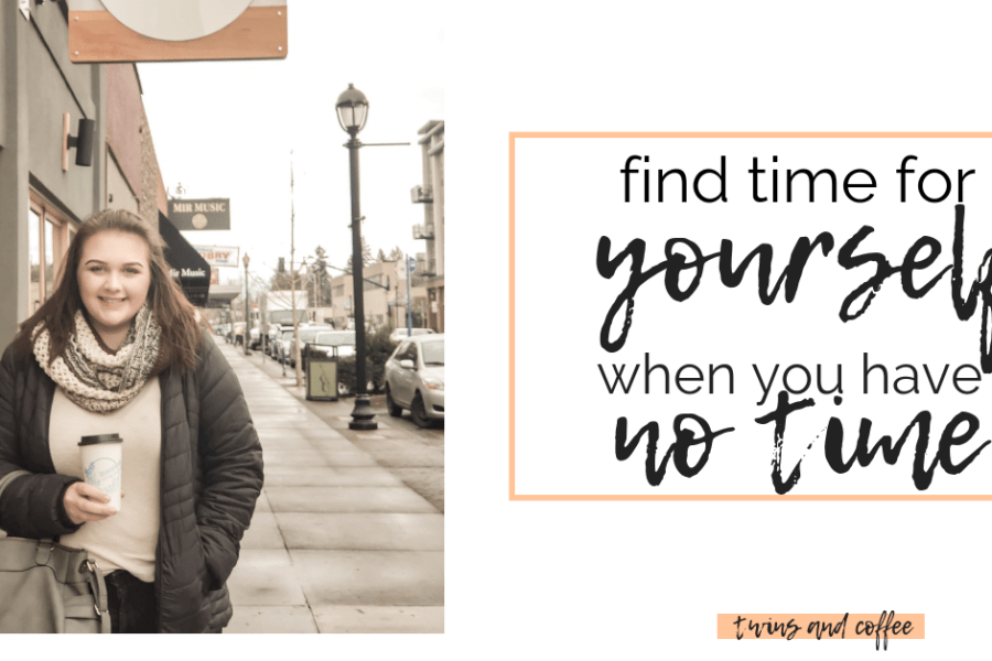 tips and tricks for finding more time for yourself and self care as a busy mom of babies and toddlers.