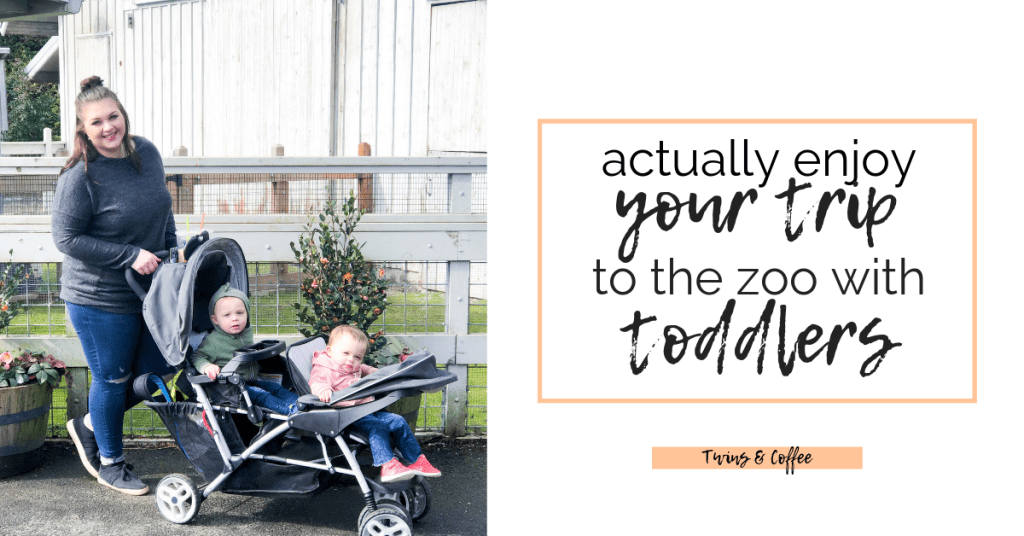 Any trip with twins can be stressful. Here are my tips to enjoying your trip to the zoo with toddlers and toddler twins. My twins are one year old and enjoyed their time visiting the animals at the oregon zoo.
