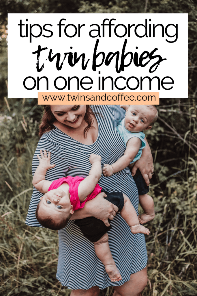 affording twins on one income