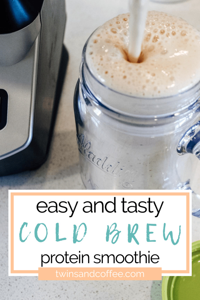 cold brew protein smoothie