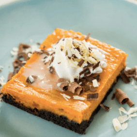 Oreos and Pumpkin Slab Pie