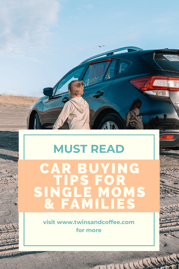car buying tips for moms