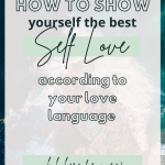 self love language tips