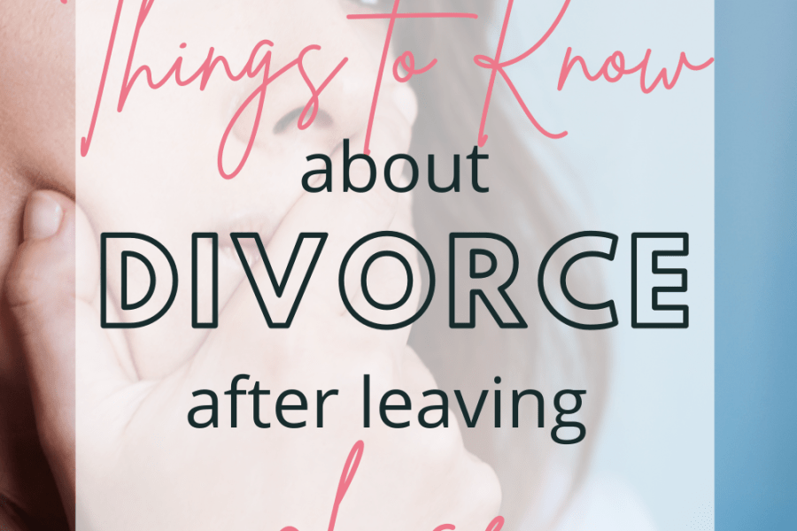 leaving an abusive marriage