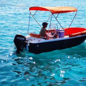 barco sin licencia para alquilar en ciutadella de menorca