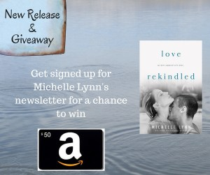 Get signed up for Michelle Lynn's newsletter for a chance to win