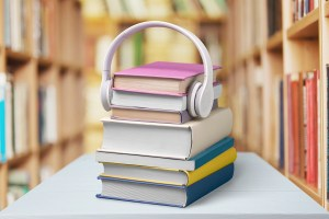 Headphones Book Audio Equipment Sound e-learning Audiobook Listening