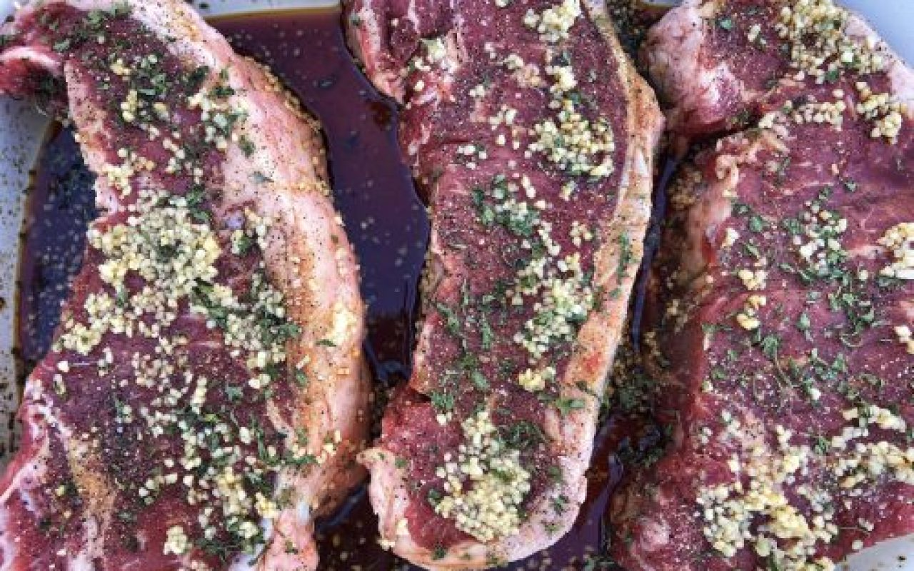 The Best Quick-and-Easy Steak Marinade