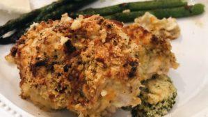 Broccoli Cheddar Chicken Roll Up