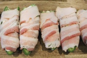 Bacon-Wrapper Jalepeno Poppers