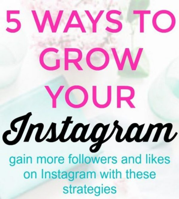 5 Ways to Grow Your Instagram