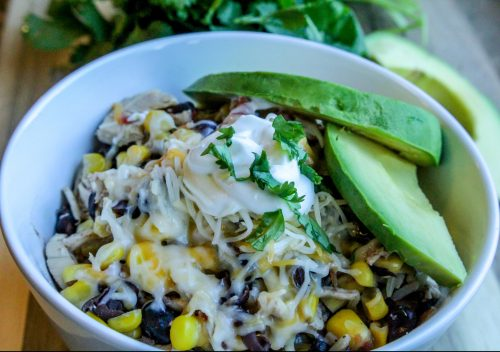 Slow Cooker Santa Fe Chicken and Rice Recipe