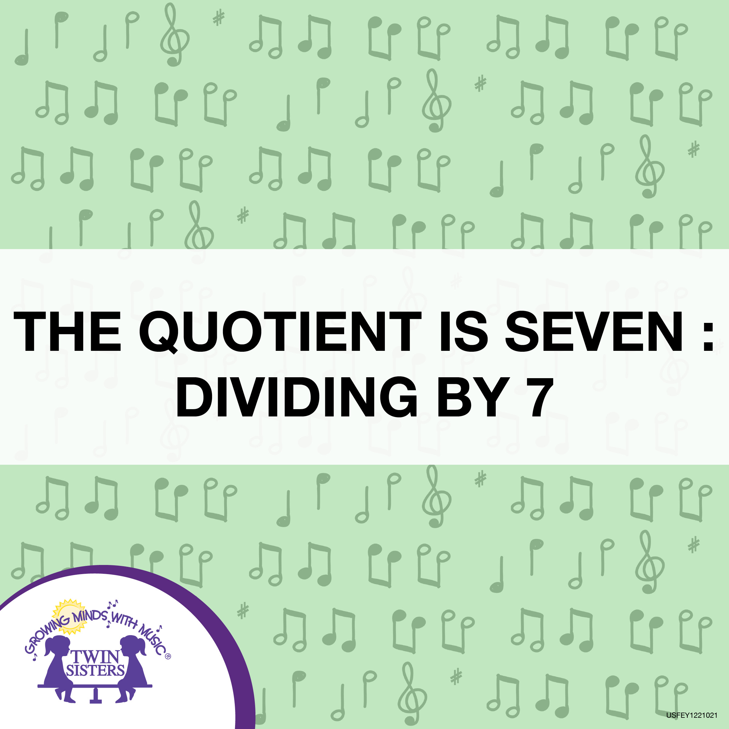 The Quotient Is Seven Dividing By 7