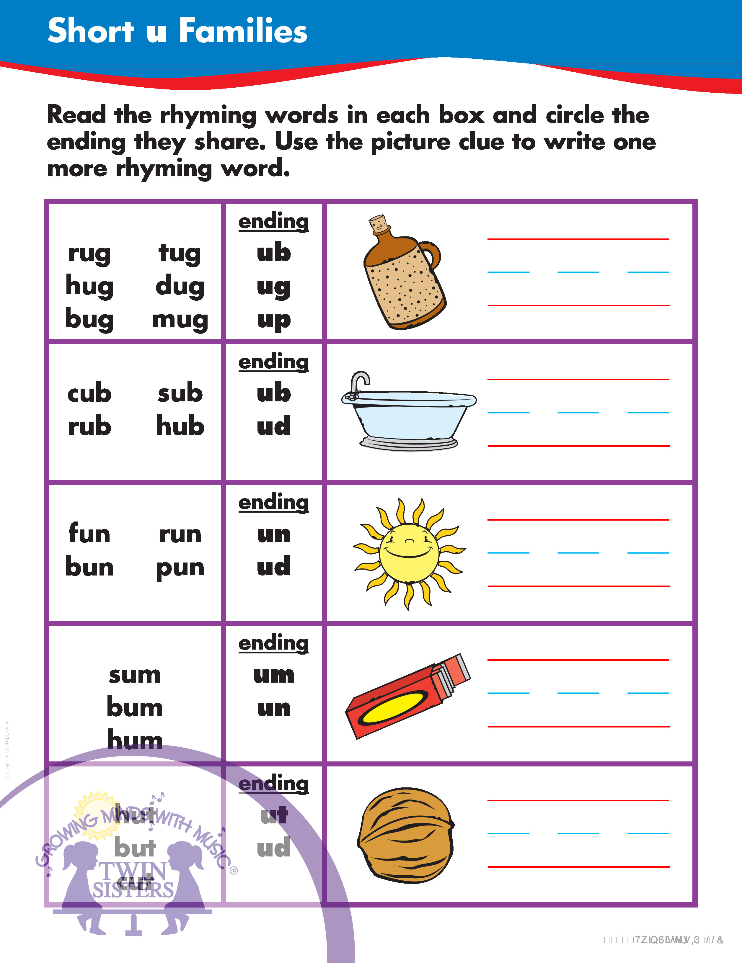 Learning Phonics Vowels O And U And Consonant Blends