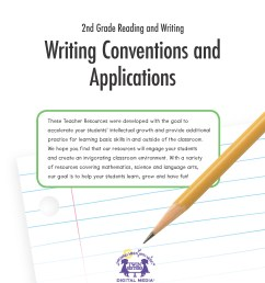 2nd Grade Reading and Writing: Writing Conventions and Applications   Twin  Sisters [ 2200 x 1700 Pixel ]