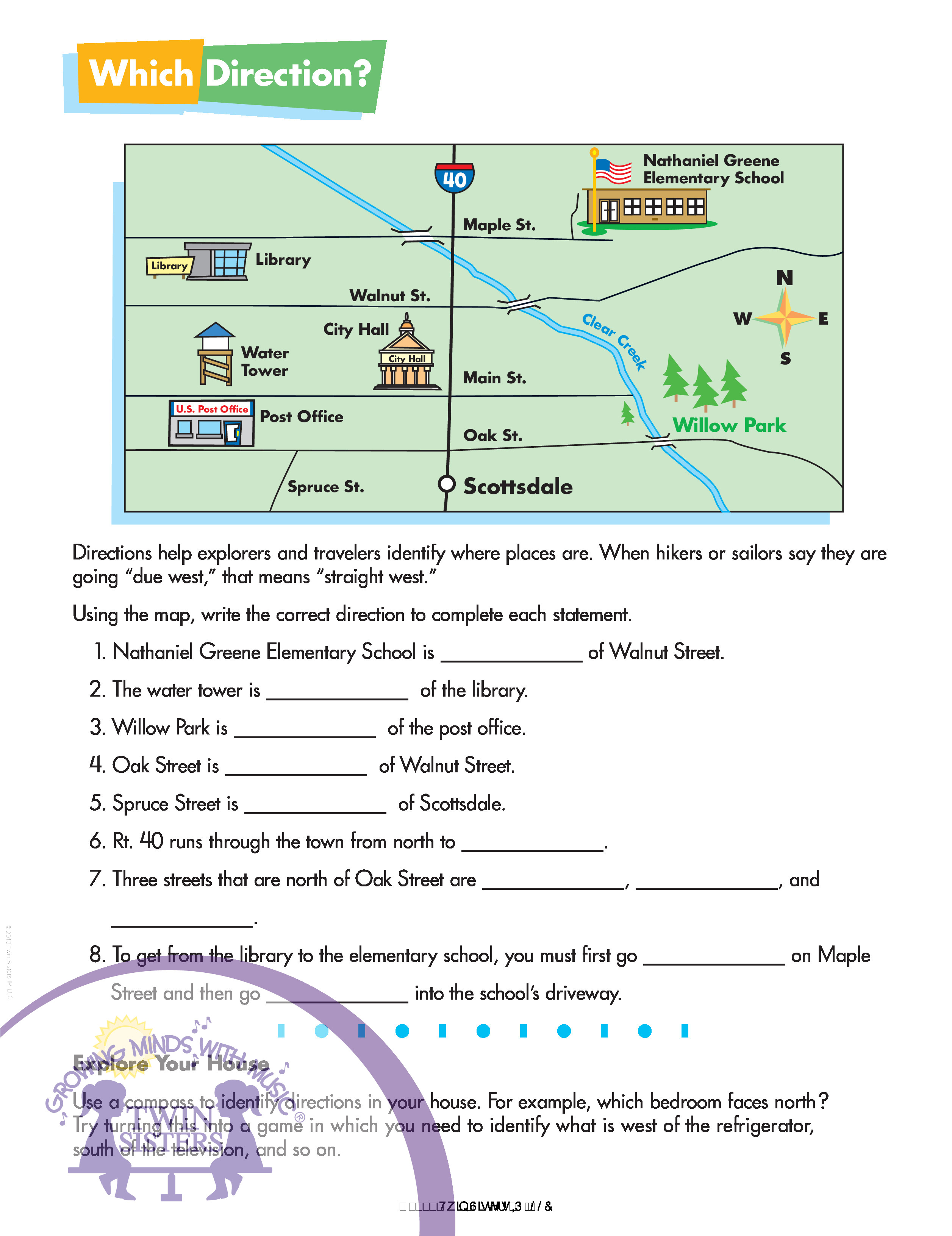 Content Map Worksheet