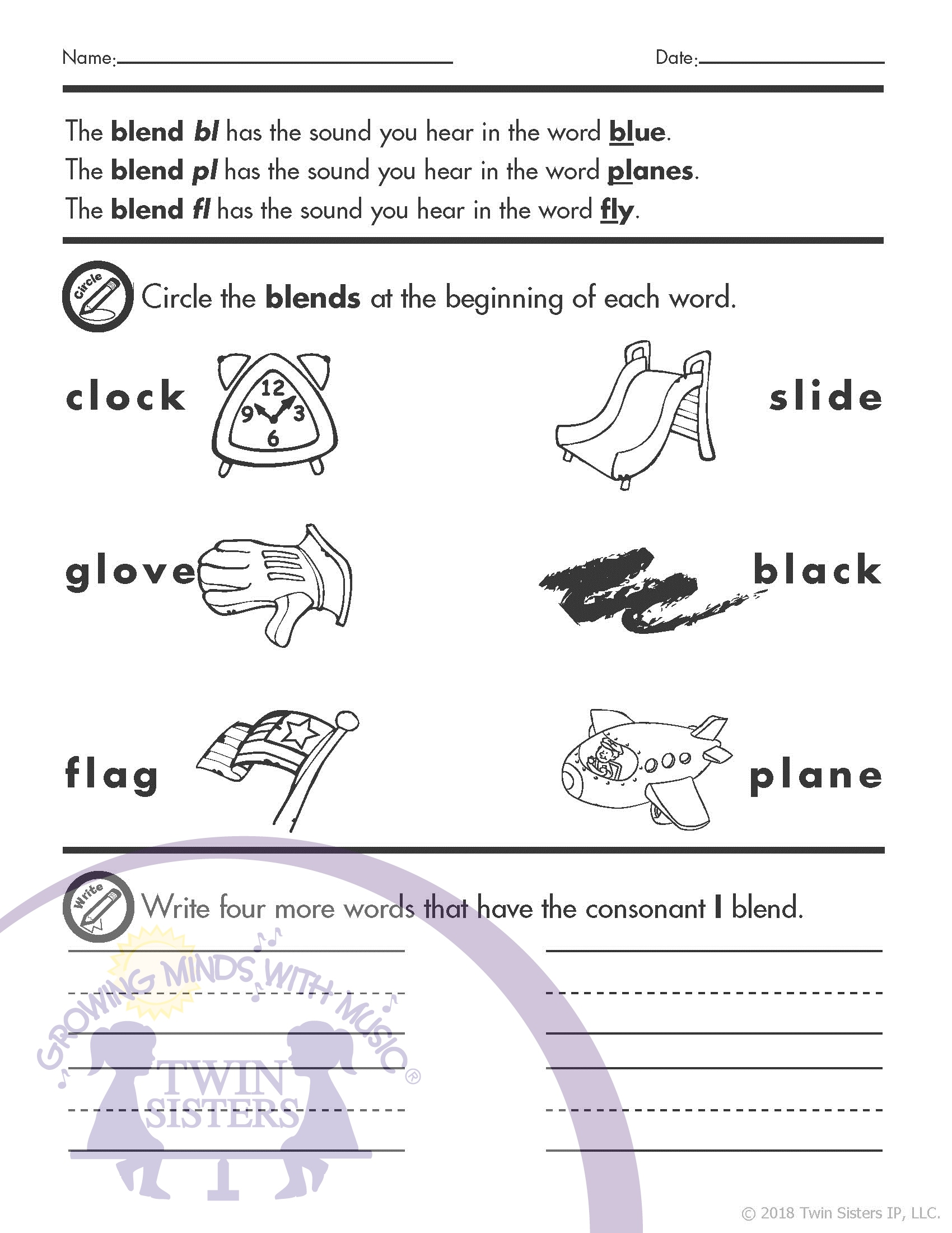 hight resolution of Cononsant Digraphs Grade Four Worksheet   Printable Worksheets and  Activities for Teachers