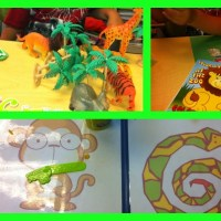 Jungle Themed Speech Therapy Week