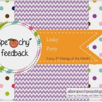 April's Speechy Feedback Party!