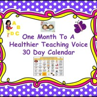 May Is Better Hearing & Speech Month!  Pick up your voice FREEBIE here!