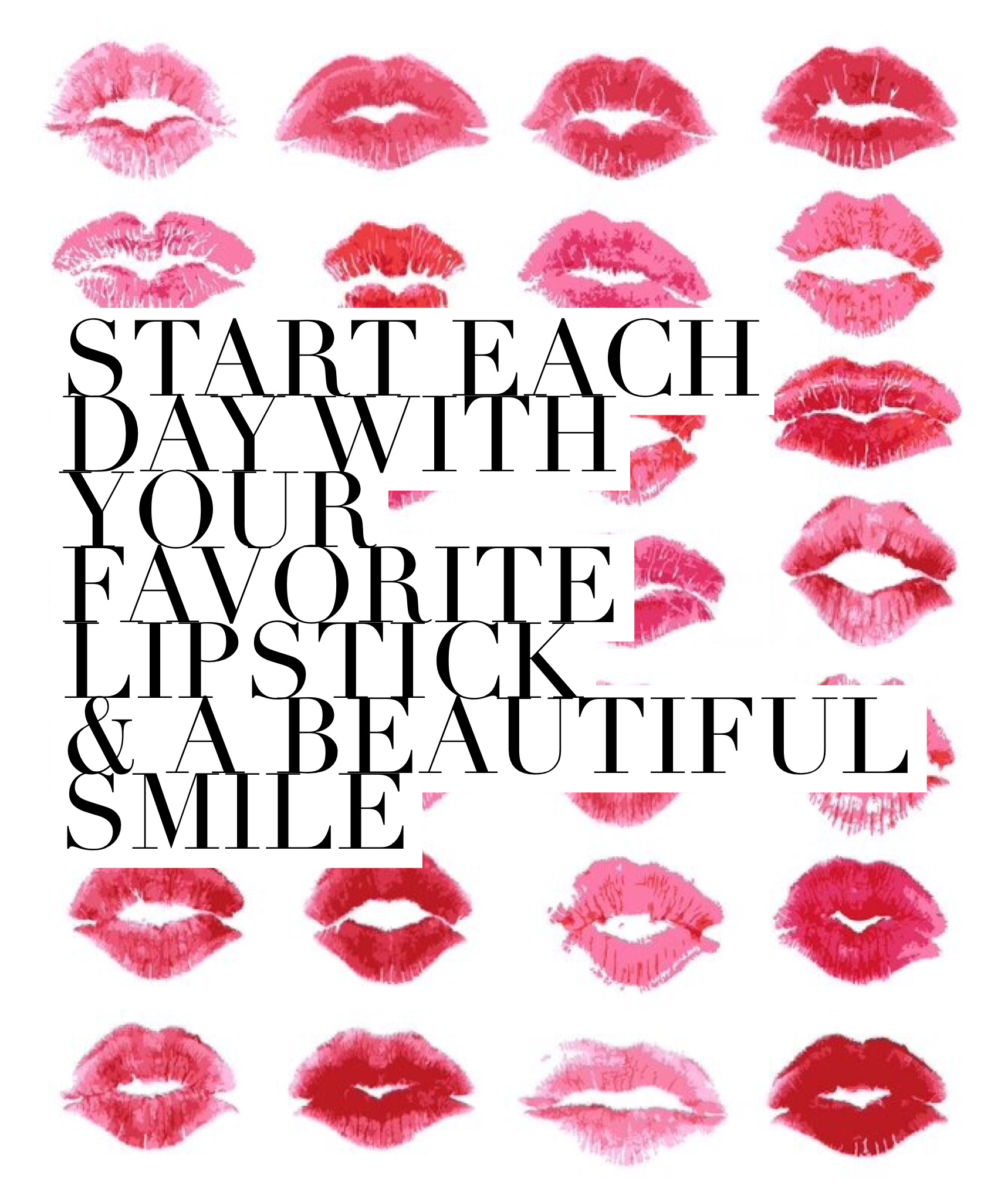 graphic relating to Lip Printable called Friday Freebie: Lipstick Printable Twinspiration