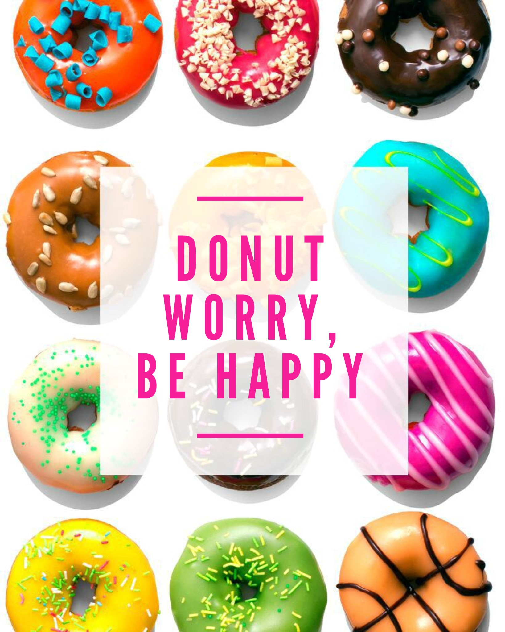 graphic regarding Donut Printable named Friday Freebie: DONUT Printable Twinspiration