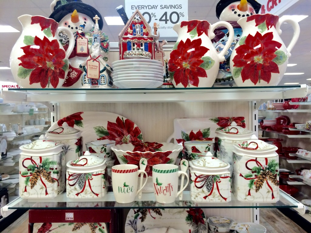 Christmas Mugs & Canisters