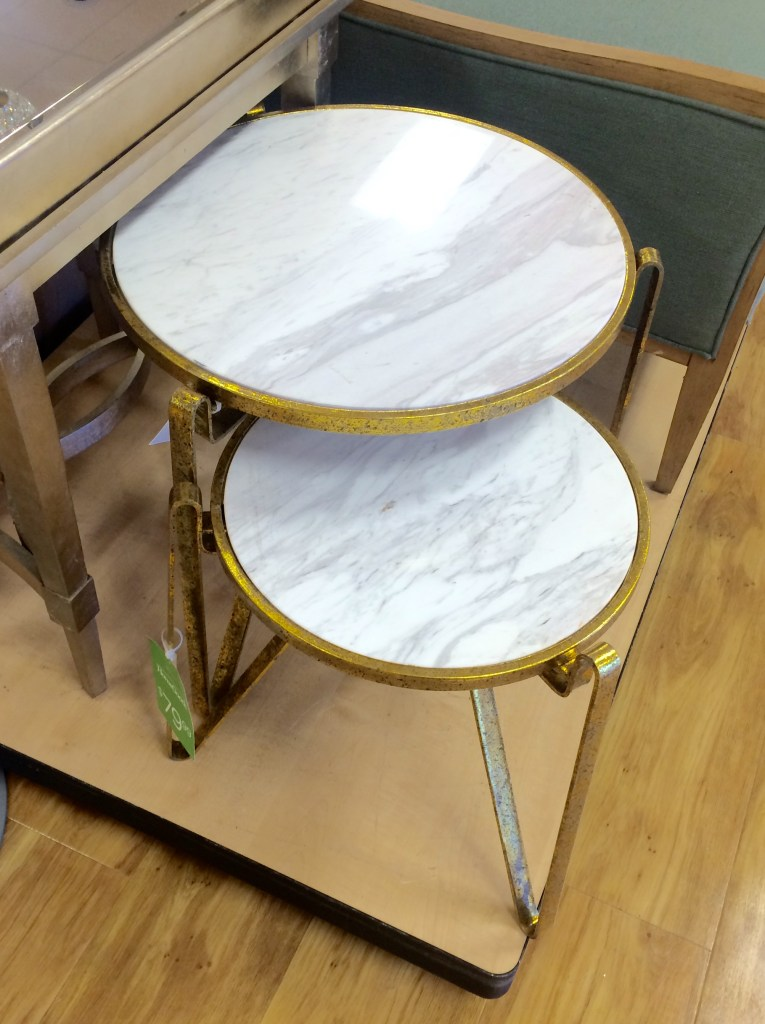 Marble & Gold Tables