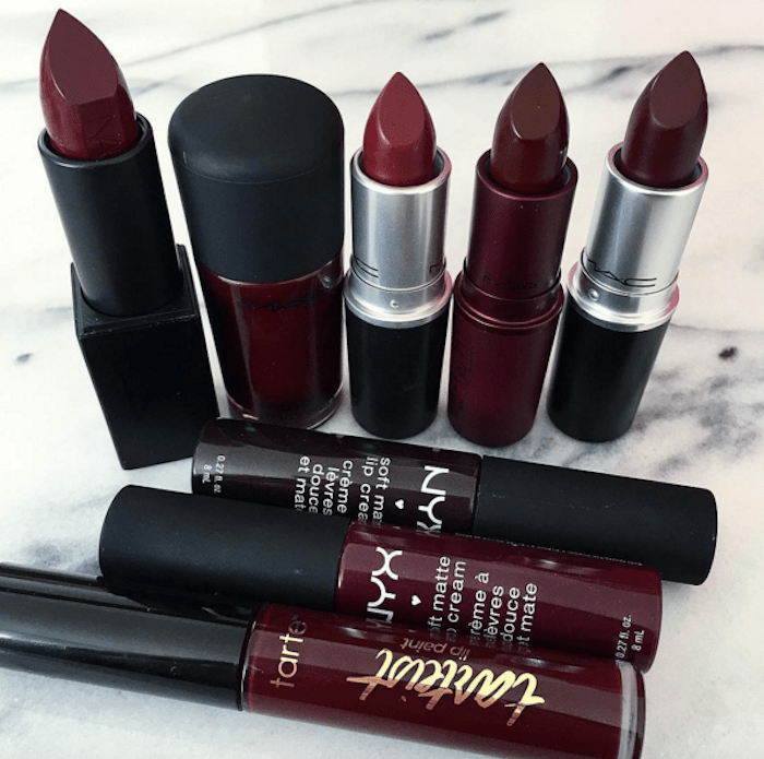 Best Burgundy Lipsticks