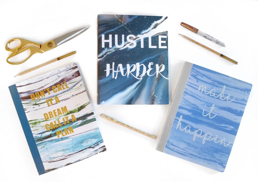 DIY Inspirational Notebooks | Twinspiration
