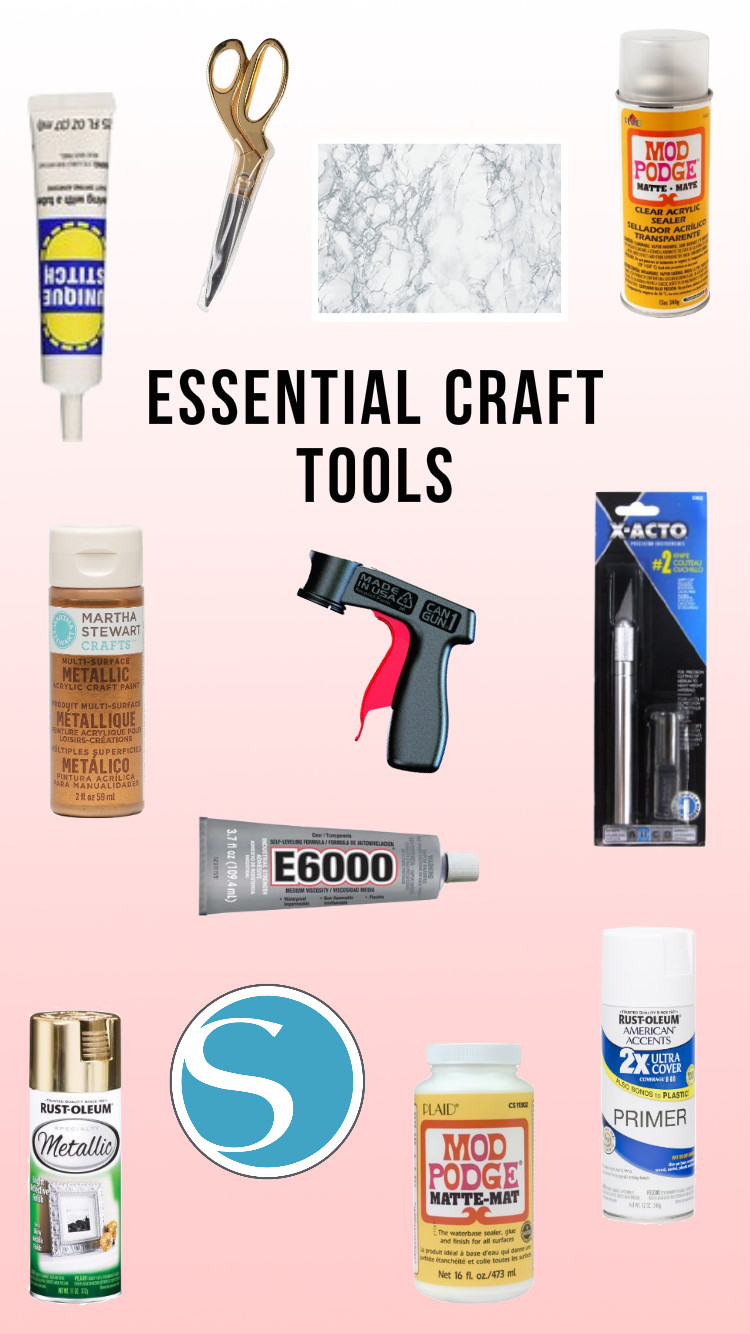 Tools Every Crafter Needs | Twinspiration