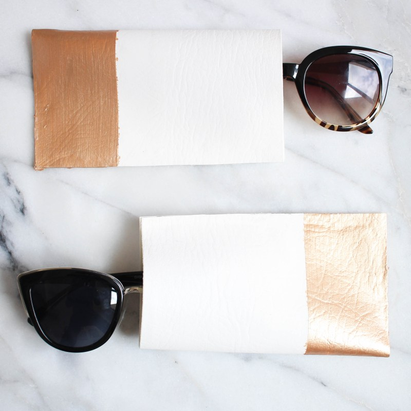 DIY Sunglass Case | Twinspiration