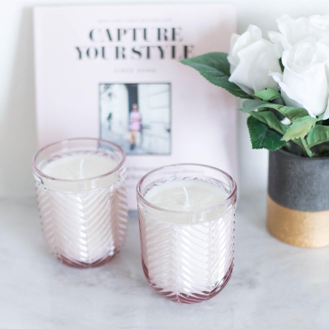 DIY Fir & Grapefruit Candle | Twinspiration