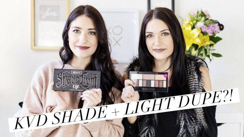 Kat Von D Shade + Light Palette Dupe | Twinspiration