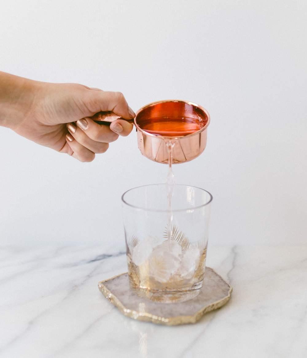 Peach Citrus Rosé Spritzer | Twinspiration