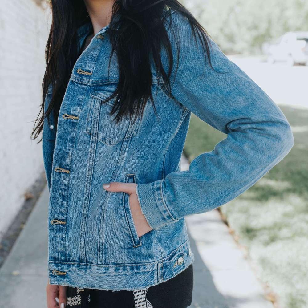 Staple Denim Jacket | Twinspiration