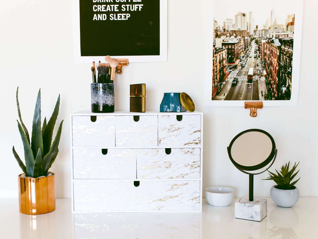 IKEA Hack: Makeup Storage Chest | Twinspiration