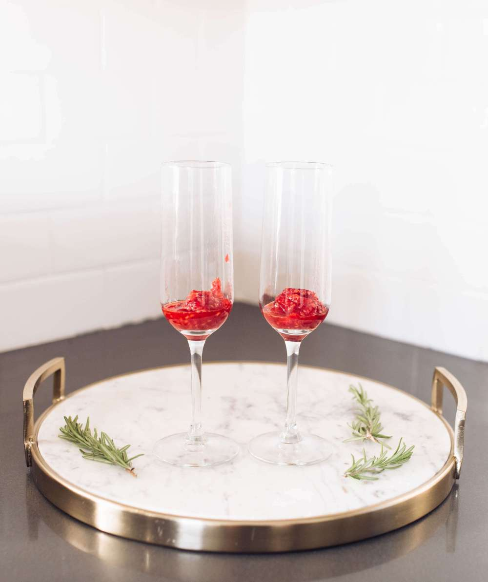 Rosemary Winter Cocktail Recipe | Twinspiration